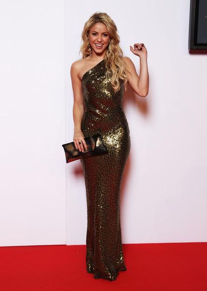 Smuk kjole på Shakira